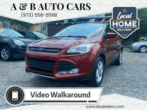 2015 Ford Escape for sale at A & B Auto Cars in Newark NJ