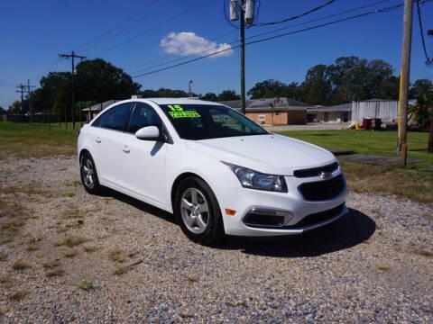 2015 Chevrolet Cruze for sale at BLUE RIBBON MOTORS in Baton Rouge LA