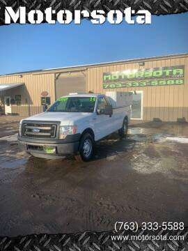 2014 Ford F-150 for sale at Motorsota in Becker MN