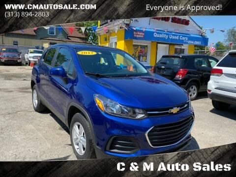 2017 Chevrolet Trax for sale at C & M Auto Sales in Detroit MI
