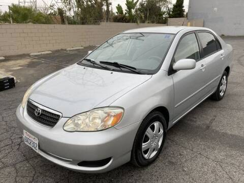 2007 Toyota Corolla for sale at Hunter's Auto Inc in North Hollywood CA