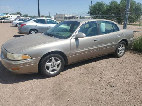 2000 Buick LeSabre for sale at PYRAMID MOTORS - Fountain Lot in Fountain CO