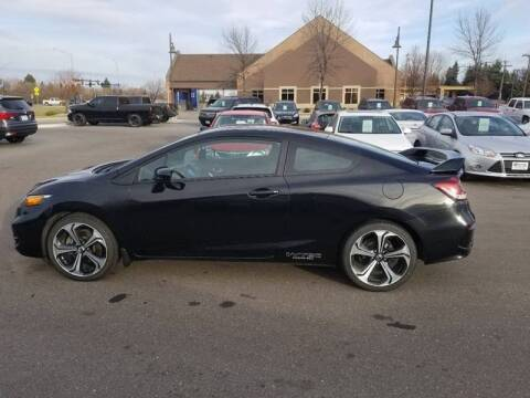 2015 Honda Civic for sale at ROSSTEN AUTO SALES in Grand Forks ND