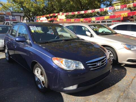 2010 Hyundai Elantra for sale at Chambers Auto Sales LLC in Trenton NJ