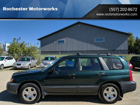 2003 Subaru Forester for sale at Rochester Motorworks in Rochester MN