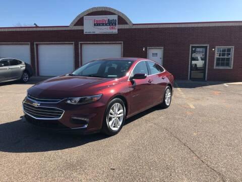 2016 Chevrolet Malibu for sale at Family Auto Finance OKC LLC in Oklahoma City OK