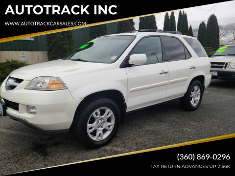 2005 Acura MDX for sale at AUTOTRACK INC in Mount Vernon WA