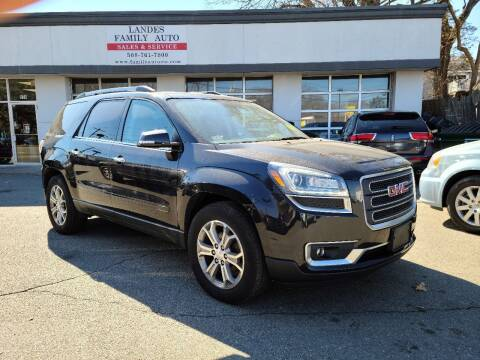 2015 GMC Acadia for sale at Landes Family Auto Sales in Attleboro MA