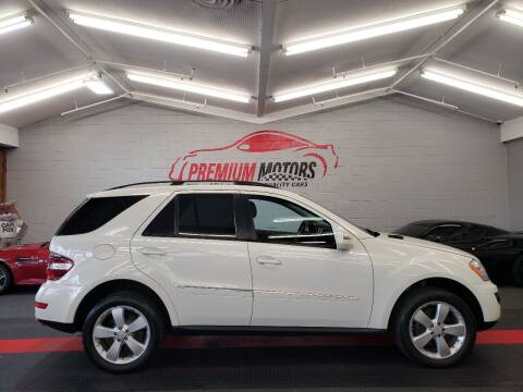 2009 Mercedes-Benz M-Class for sale at Premium Motors in Villa Park IL