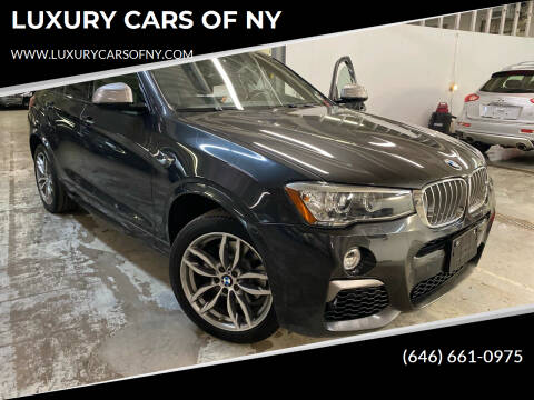 2017 BMW X4 for sale at LUXURY CARS OF NY in Queens NY