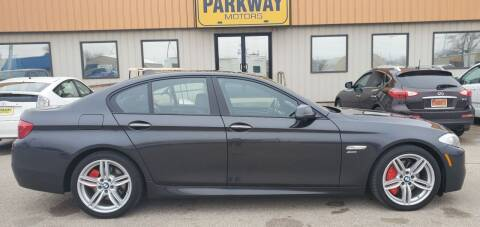 2011 BMW 5 Series for sale at Parkway Motors in Springfield IL