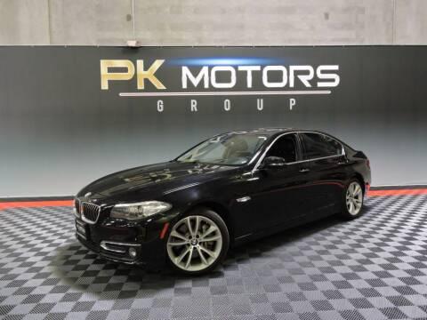 2015 BMW 5 Series for sale at PK MOTORS GROUP in Las Vegas NV