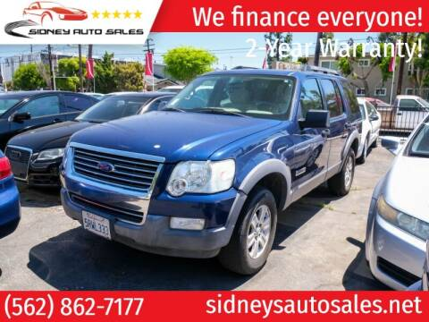 2006 Ford Explorer for sale at Sidney Auto Sales in Downey CA