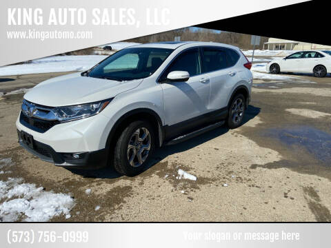 2019 Honda CR-V for sale at KING AUTO SALES, LLC in Farmington MO