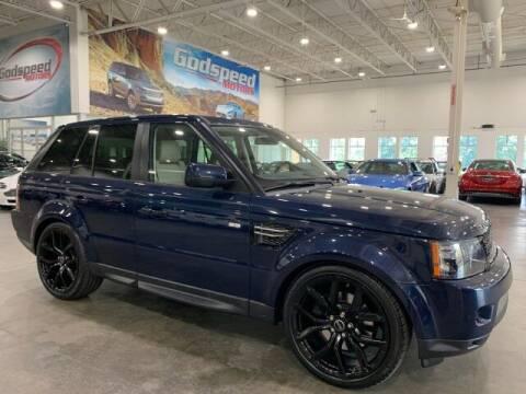 2012 Land Rover Range Rover Sport for sale at Godspeed Motors in Charlotte NC