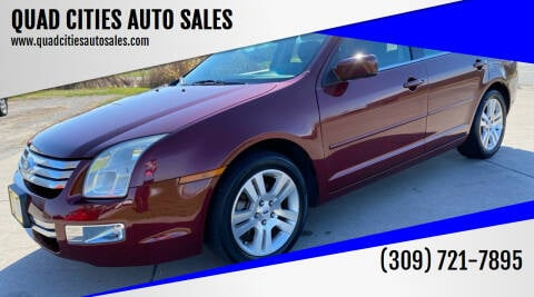 2006 Ford Fusion for sale at QUAD CITIES AUTO SALES in Milan IL