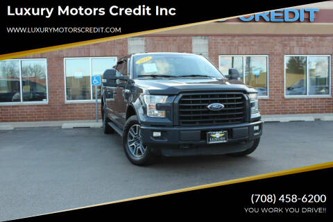 2016 Ford F-150 for sale at Luxury Motors Credit Inc in Bridgeview IL