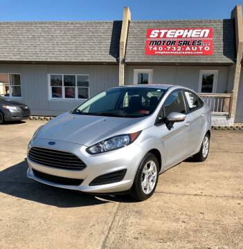 2015 Ford Fiesta for sale at Stephen Motor Sales LLC in Caldwell OH