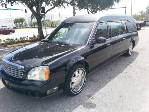 2005 Cadillac Deville Professional for sale at LAND & SEA BROKERS INC in Deerfield FL