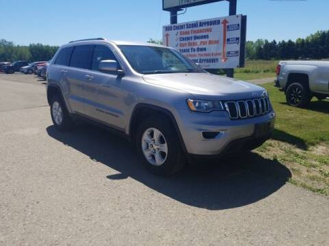2017 Jeep Grand Cherokee for sale at Sensible Sales & Leasing in Fredonia NY