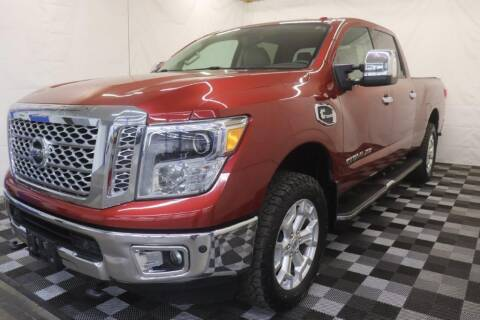 2016 Nissan Titan XD for sale at AH Ride & Pride Auto Group in Akron OH