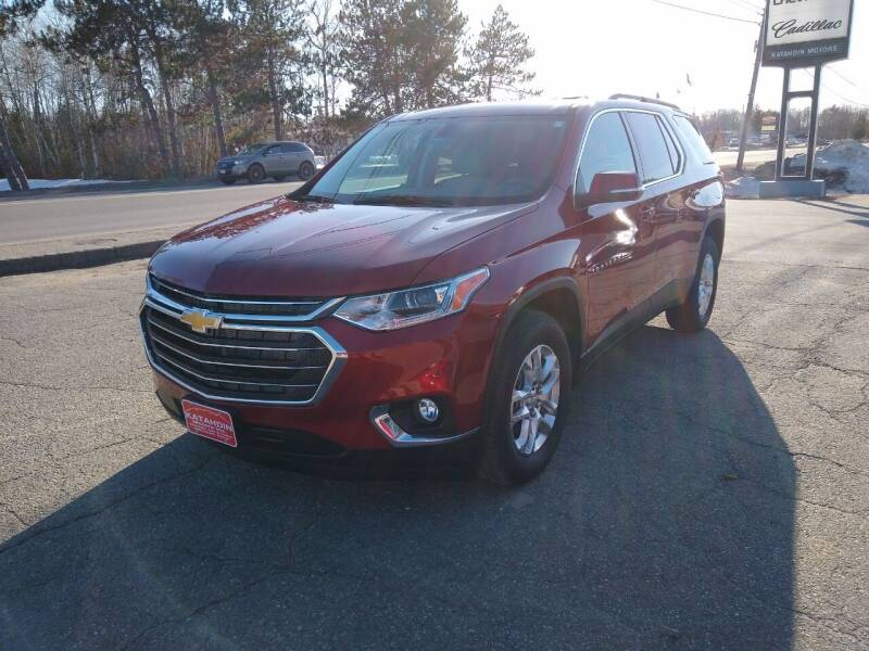 2021 Chevrolet Traverse for sale at KATAHDIN MOTORS INC /  Chevrolet Sales & Service in Millinocket ME