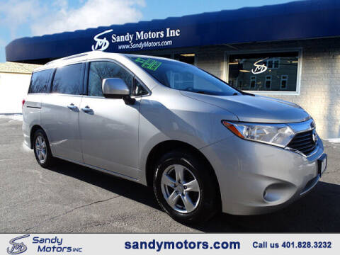 2017 Nissan Quest for sale at Sandy Motors Inc in Coventry RI