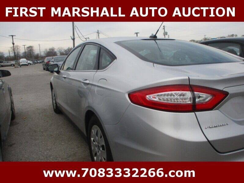 2014 Ford Fusion S 4dr Sedan - Harvey IL