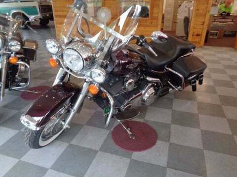 2007 HARYLEY DAVIDSON ROAD KING CLASSIC for sale at SCHURMAN MOTOR COMPANY in Lancaster NH