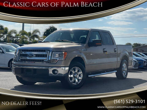 2013 Ford F-150 for sale at Classic Cars of Palm Beach in Jupiter FL
