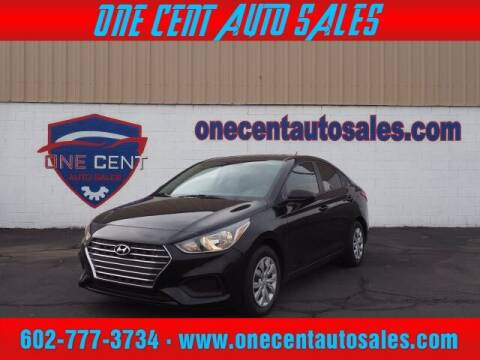 2020 Hyundai Accent for sale at One Cent Auto Sales in Glendale AZ