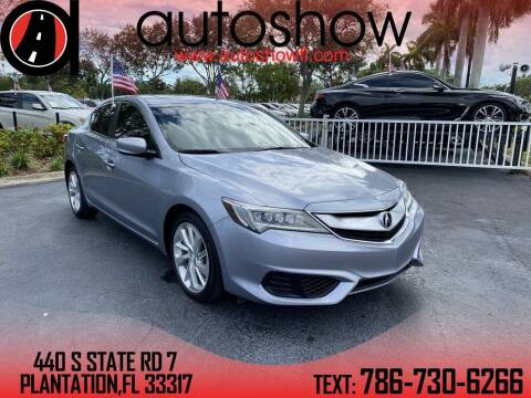 2016 Acura ILX for sale at AUTOSHOW SALES & SERVICE in Plantation FL