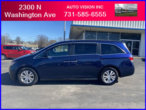 2016 Honda Odyssey for sale at Auto Vision Inc. in Brownsville TN