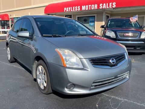 2012 Nissan Sentra for sale at Payless Motor Sales LLC in Burlington NC