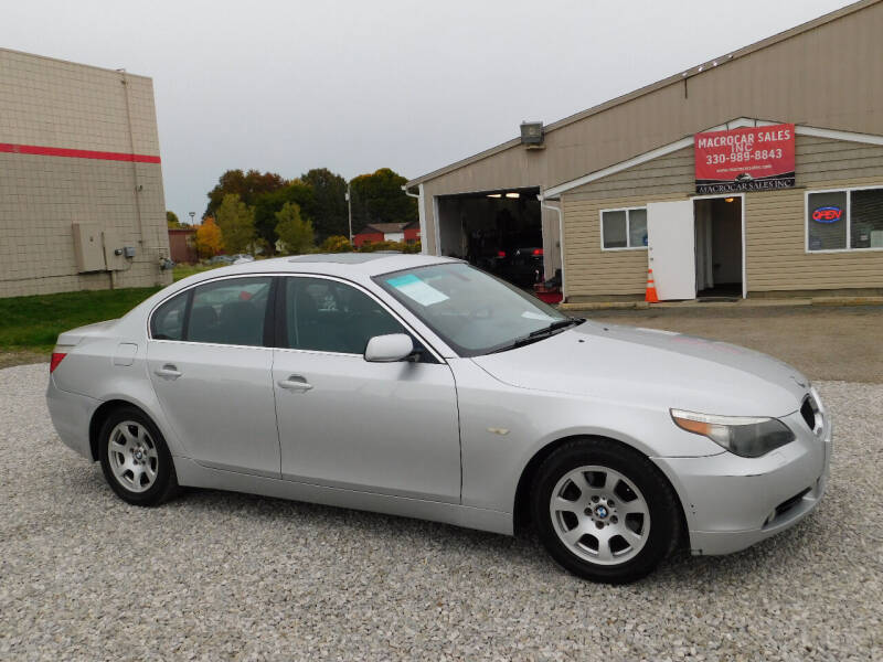 2004 BMW 5 Series for sale at Macrocar Sales Inc in Akron OH