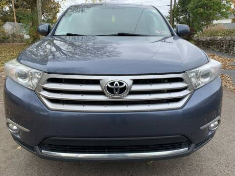 2012 Toyota Highlander for sale at Via Roma Auto Sales in Columbus OH