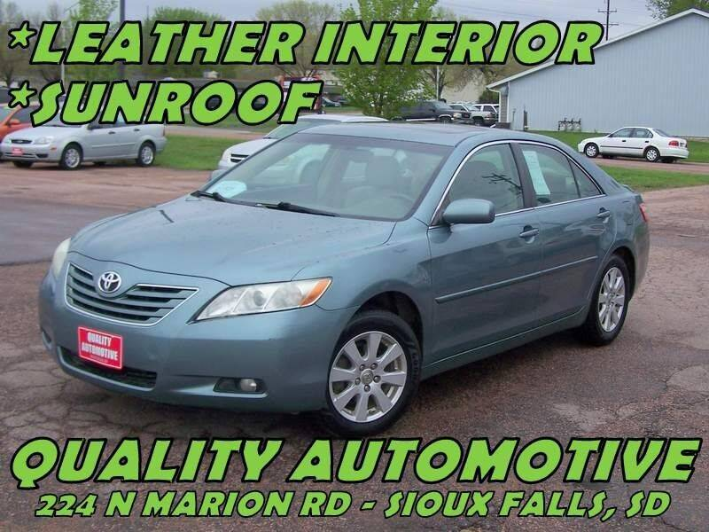 2009 Toyota Camry for sale at Quality Automotive in Sioux Falls SD