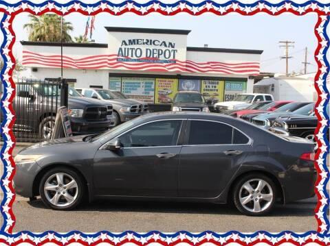 2011 Acura TSX for sale at American Auto Depot in Modesto CA