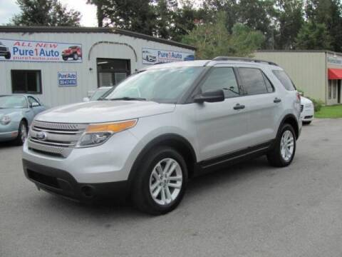 2015 Ford Explorer for sale at Pure 1 Auto in New Bern NC