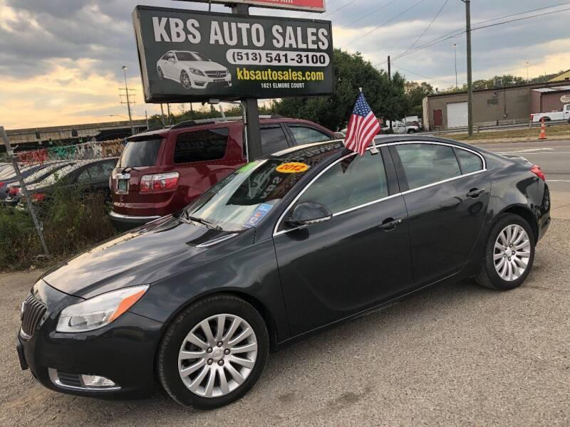 2012 Buick Regal for sale at KBS Auto Sales in Cincinnati OH