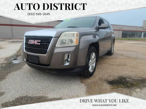 2011 GMC Terrain for sale at Auto District in Baytown TX