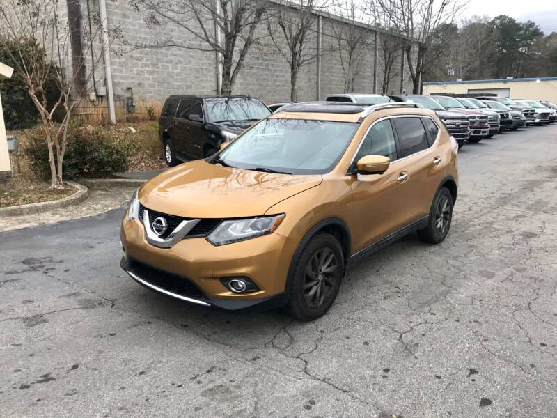 2015 Nissan Rogue for sale at Five Brothers Auto Sales in Roswell GA