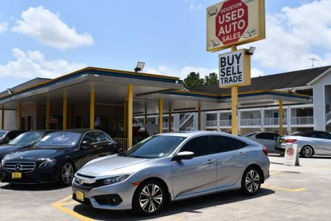 2016 Honda Civic for sale at Houston Used Auto Sales in Houston TX