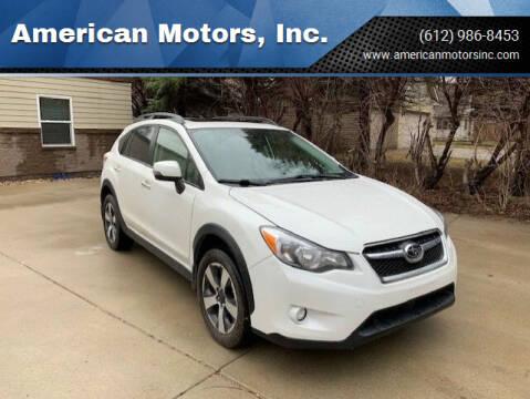 2014 Subaru XV Crosstrek for sale at American Motors, Inc. in Farmington MN