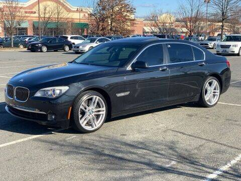 2011 BMW 7 Series for sale at XCELERATION AUTO SALES in Chester VA