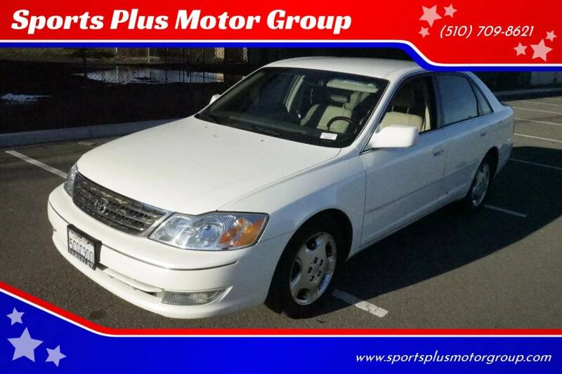 2003 Toyota Avalon for sale at Sports Plus Motor Group LLC in Sunnyvale CA