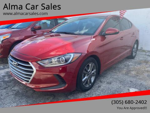 2017 Hyundai Elantra for sale at Alma Car Sales in Miami FL
