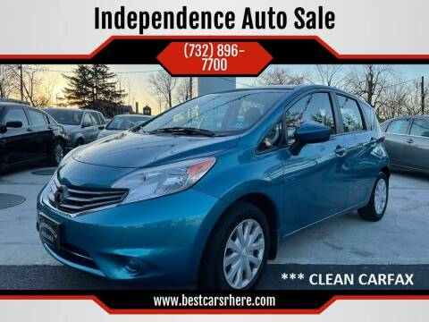 2015 Nissan Versa Note for sale at Independence Auto Sale in Bordentown NJ