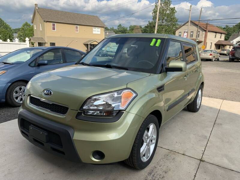 2011 Kia Soul for sale at VINNY AUTO SALE in Duryea PA