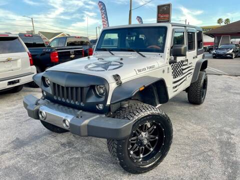 2015 Jeep Wrangler Unlimited for sale at Unique Motors of Tampa in Tampa FL